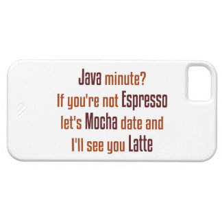 Funny Coffee Date Case For The iPhone 5