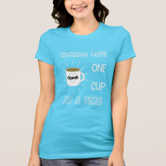 Funny Coffee Drinkers Slogan Graphic T-Shirt