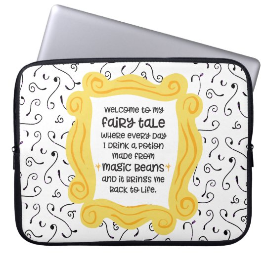 Funny coffee gift magic bean potion fairy tale