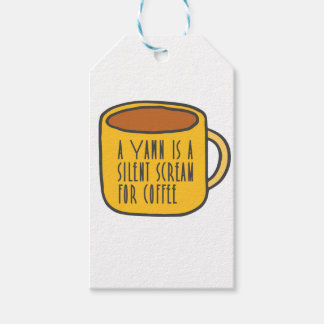 Funny coffee gift tags