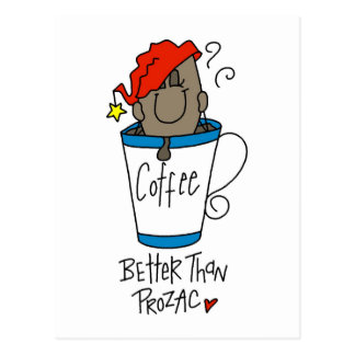 Funny Coffee Lover Gift Post Cards