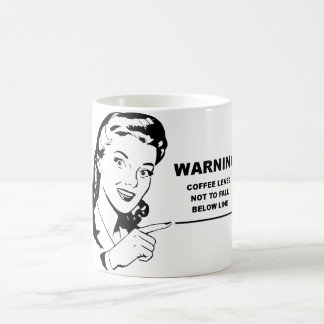 Funny coffee mug for the caffeine dependent