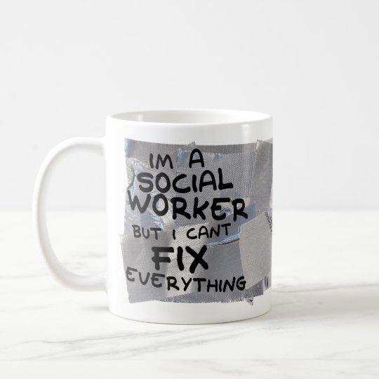 Funny Coffee Mug Gift - Social Worker Fix