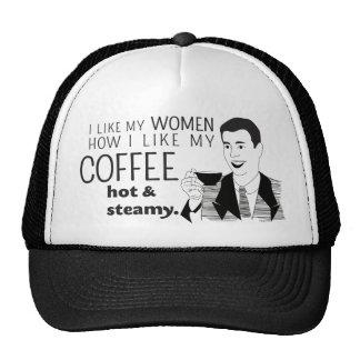 Funny Coffee Mug Joke for Mature Dads Men Boys Cap