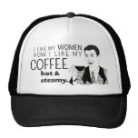 Funny Coffee Mug Joke for Mature Dads Men Boys Trucker Hat