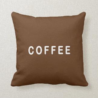 Funny Coffee or Tea choice cushion