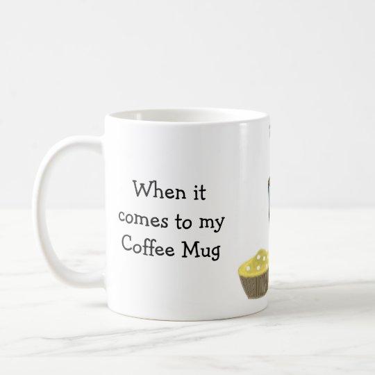 Funny Coffee Saying Size Does Matter Coffee Mug