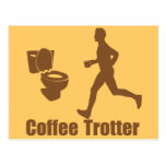 Funny Coffee Trotter