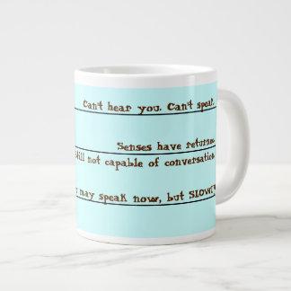 Funny Coffee Wake Up Mug 20 Oz Large Ceramic Coffee Mug