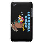 funny cold turkey cartoon barely there iPod case