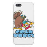funny cold turkey cartoon case for iPhone 5