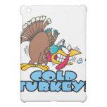 funny cold turkey cartoon iPad mini cases