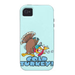 funny cold turkey cartoon iPhone 4/4S cases