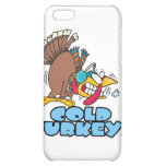 funny cold turkey cartoon iPhone 5C cover