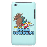 funny cold turkey cartoon iPod touch case