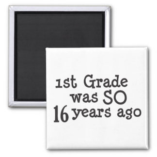 Funny College University Graduate Magnet