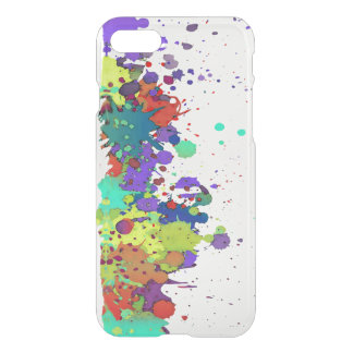 FUNNY COLOR SPLASH I + your backgr. & ideas iPhone 7 Case