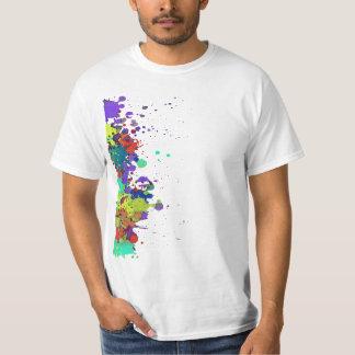 FUNNY COLOR SPLASH I + your backgr. & ideas T-Shirt