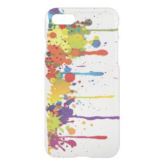 FUNNY COLOR SPLASH II + your backgr. & ideas iPhone 7 Case