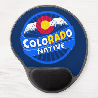 Funny Colorado flag rad native mouse pad Gel Mouse Pad