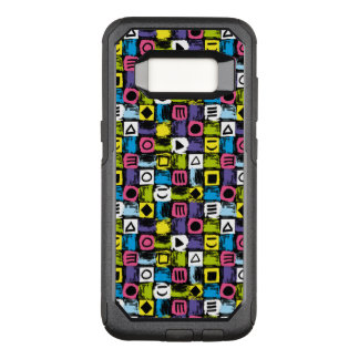 Funny Colorful Back To The 80's Pattern OtterBox Commuter Samsung Galaxy S8 Case