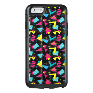 Funny Colorful Back To The 80's Pattern OtterBox iPhone 6/6s Case