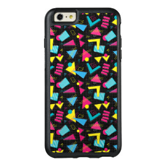 Funny Colorful Back To The 80's Pattern OtterBox iPhone 6/6s Plus Case