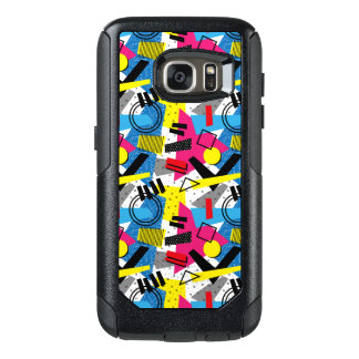 Funny Colorful Back To The 80's Pattern OtterBox Samsung Galaxy S7 Case