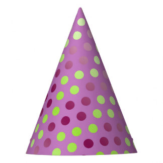 Funny Colorful Polka Dots Party Hat