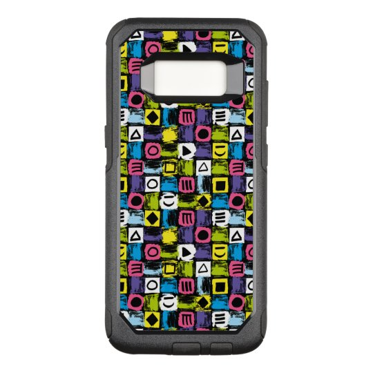 Funny Colourful Back To The 80's Pattern OtterBox