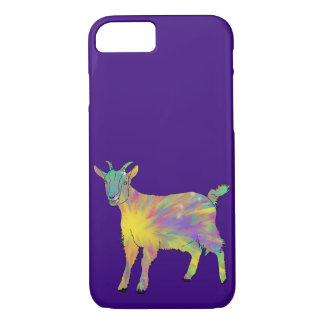 Funny Colourful Goat Animal Art Design iPhone 8/7 Case
