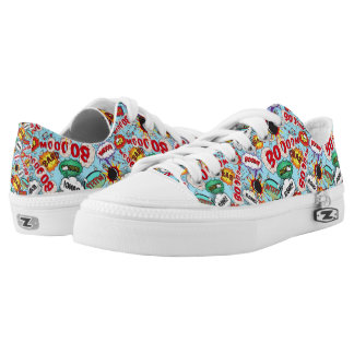Funny Comic Pattern Low Tops