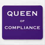 Funny Compliance Job Title Mouse Mats
