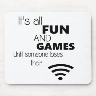 Funny Computer / Internet Quote Mouse Mat