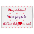 Funny Congratulations Mum To Be Baby Shower Card