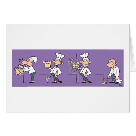 Funny Cook (Birthday) Card