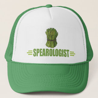 Funny Cooking Asparagus Trucker Hat
