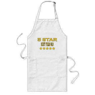 Funny Cool 60th Birthdays Five Star Sixty Year Old Apron