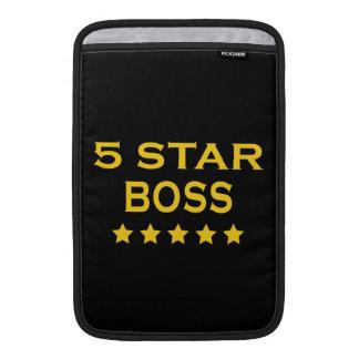 Funny Cool Bosses : Five Star Boss MacBook Sleeve