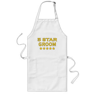 Funny Cool Gifts : Five Star Groom Aprons