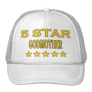 Funny Cool Godmothers : Five Star Godmother Cap