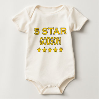 Funny Cool Godsons : Five Star Godson Baby Bodysuits