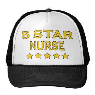 Funny Cool Nurses : Five Star Nurse Mesh Hat