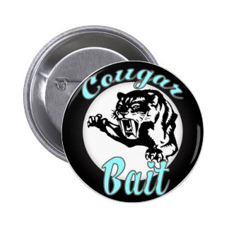 Funny Cool Retro Cougar Bait Geeky 6 Cm Round Badge