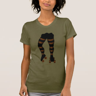 Funny cool roller skater t-shirt design