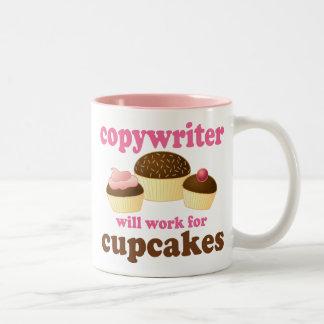 Funny Copywriter Two-Tone Coffee Mug