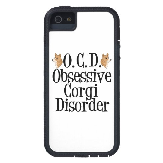 Funny Corgi iPhone 5 Case