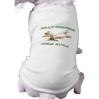 Funny Corgi Rally-o Cartoon Dog T Shirt