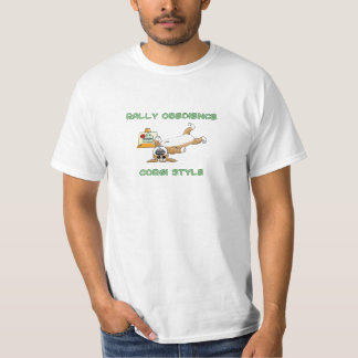 Funny Corgi Rally-o Cartoon T-Shirt
