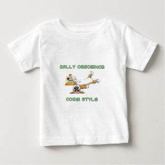 Funny Corgi Rally-o Cartoon T Shirts